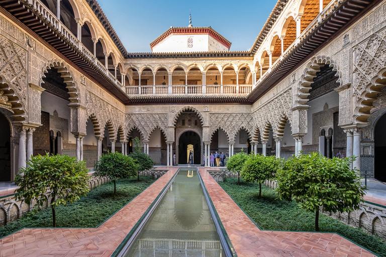 Real Alcazar in Seville