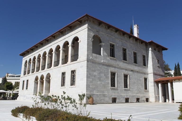 The Byzantine Museum in Athens, Greece