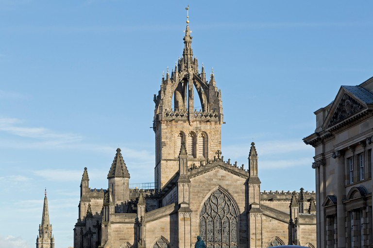 St Giles' Cathedral dates back to the late 14th century