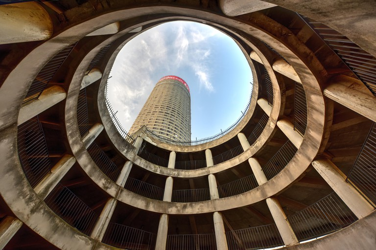 Ponte City Building interior cylinder