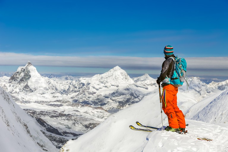 The Klein Matterhorn has 21 kilometres of pistes to explore