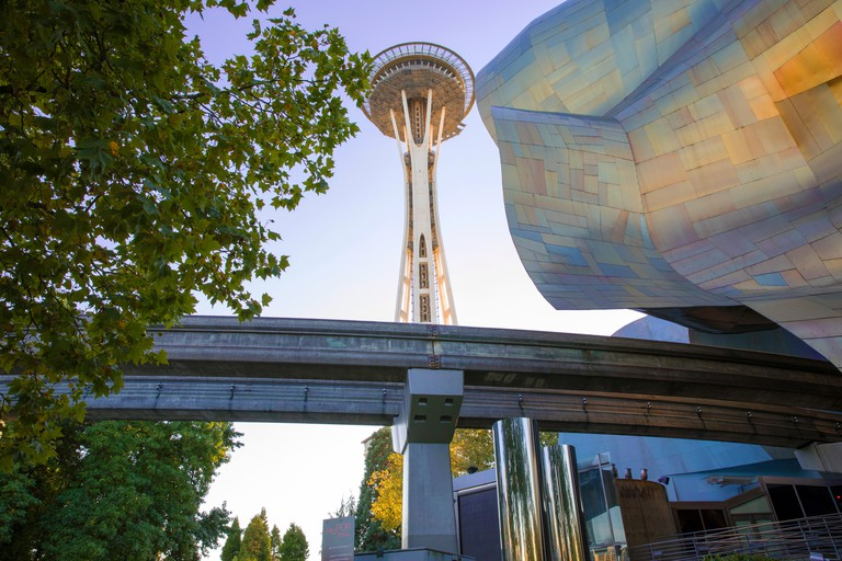 The Space Needle is Seattle's most famous landmark