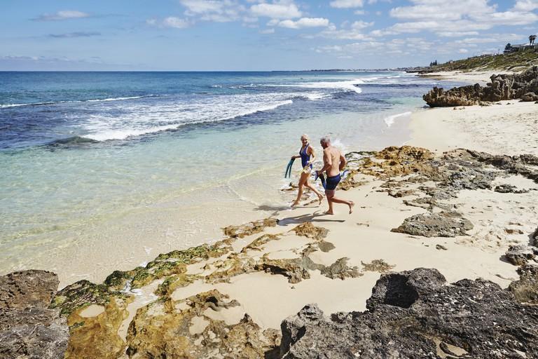 Mettams Pool, Trigg Beach © Tourism Western Australia