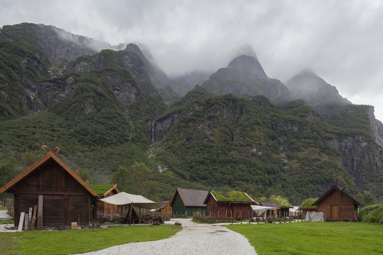 Njardarheimr Viking village in Gudvangen
