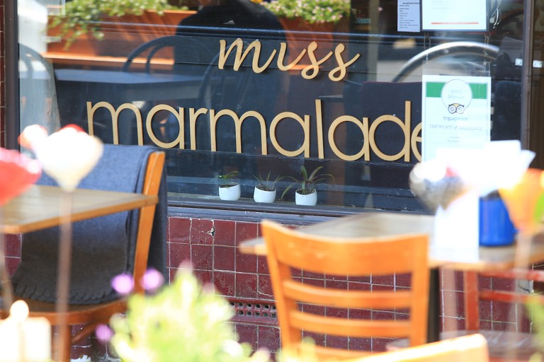 Miss Marmalade exterior sign © Miss Marmalade