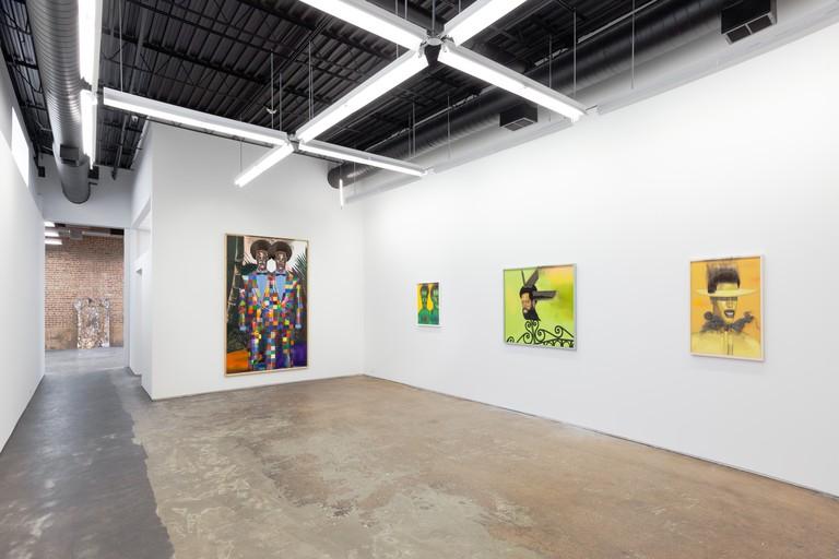 Entrapment, installation view, Jeff Sonhouse, 2018