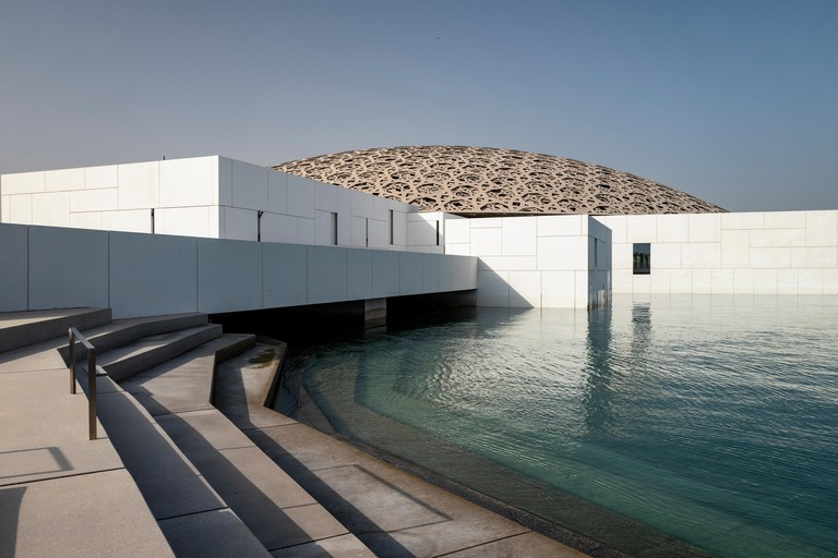 The Louvre Abu Dhabi was designed by Jean Nouvel