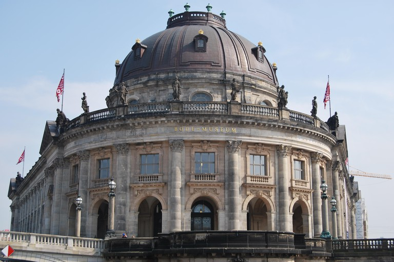 The Bode Museum is located on Museum Island