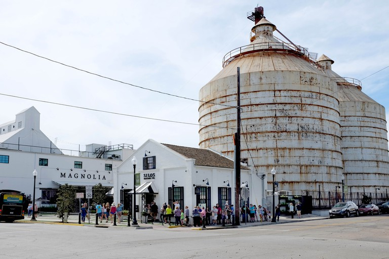 The Silos at Magnolia Market, Waco, Texas