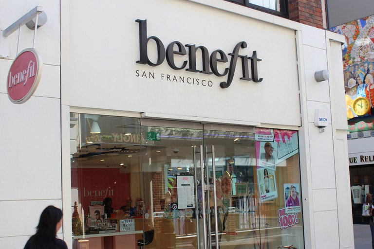 Benefit store in Carnaby Street, London
