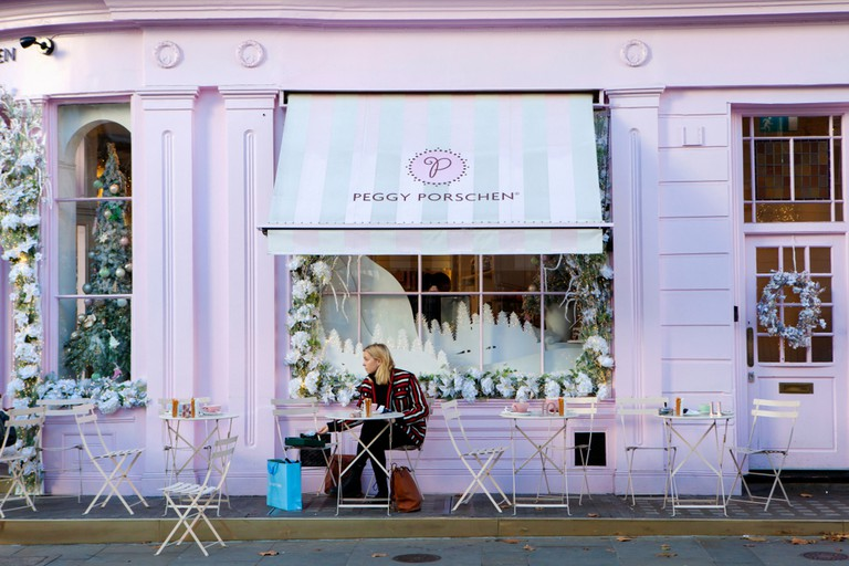 Peggy Porschen is renowned for its cupcakes