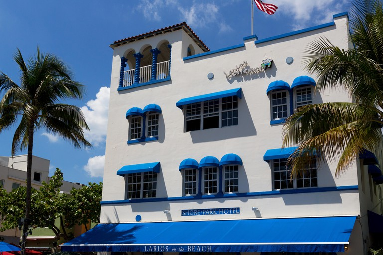Larios on the Beach on Ocean Drive, South Beach, Miami.