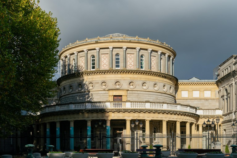 Exterior view of the National Museum of Ireland