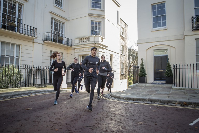 Pullman Running club at Pullman London St Pancras Hotel