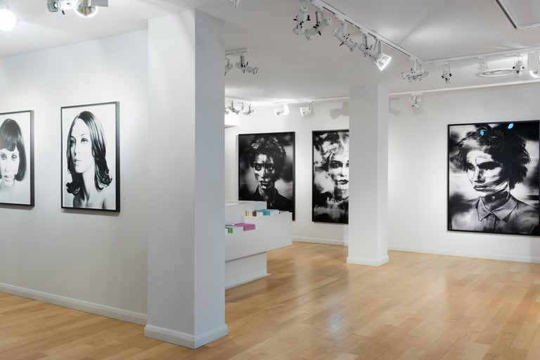Installation shot of Valerie Berlin's exhibition