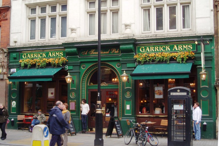 Garrick Arms attracts many people due to its central location.