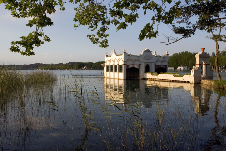 Legend has it that a mythical beast once lived in the Lake of Banyoles's waters