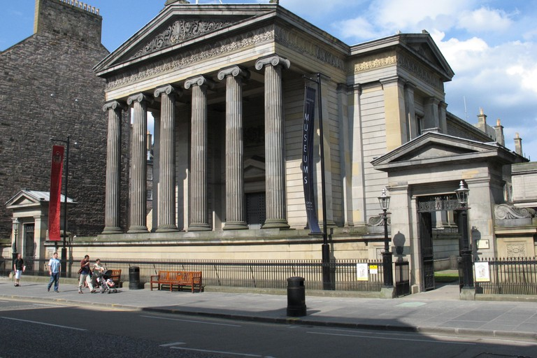 Royal College of Surgeons on Nicholson Street, Edinburgh, Scotland, UK.