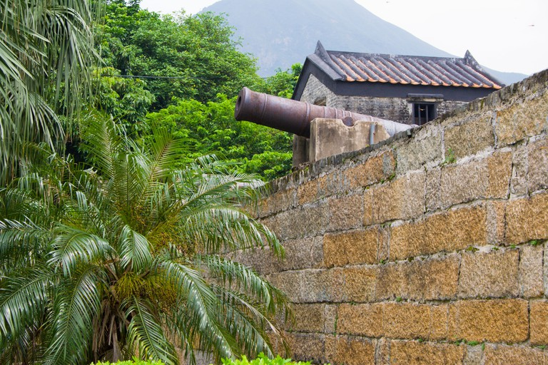 Cannon at Tung Chung Fort, Hong Kong