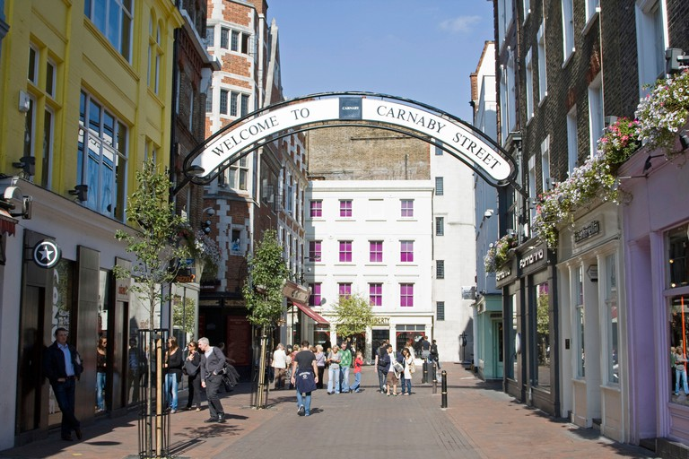 Carnaby Street is regarded as the birthplace of the Swinging '60s in London