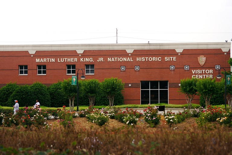 Martin Luther King Jr National Historical Park, Atlanta, Georgia, USA.