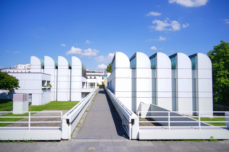 The Bauhaus-Archiv was completed in 1979