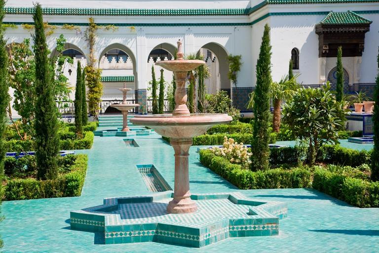 The Paris Mosque gardens