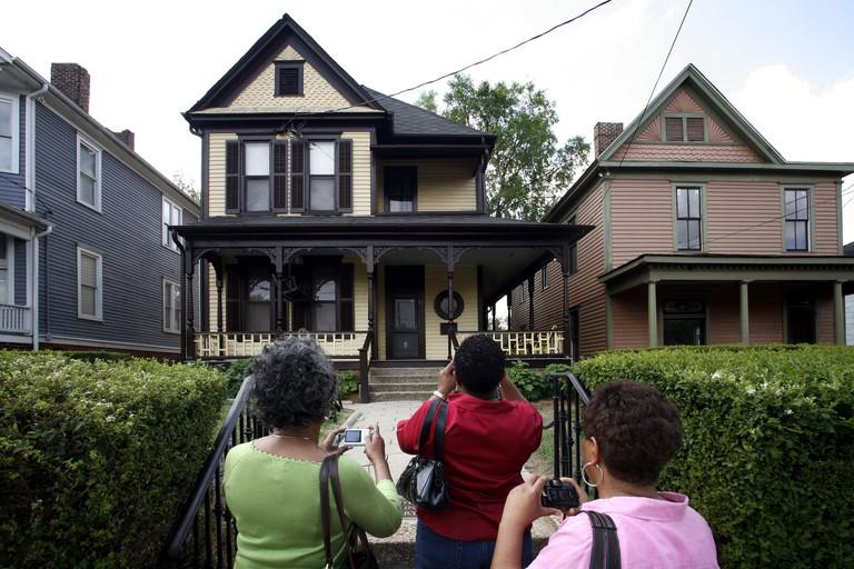 Birth Home of Martin Luther King, National Historic Site, Atlanta, Georgia, USA.