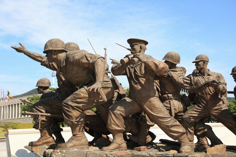 War Memorial and Museum, Seoul, South Korea, Asia