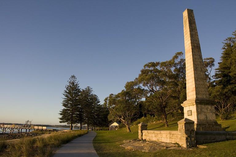 Captain Cook's landing place at Kurnell © Maksym Kozlenko / Wikimedia Commons