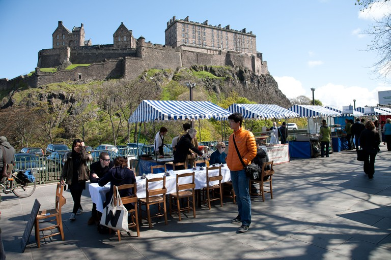 The Best Markets In Edinburgh