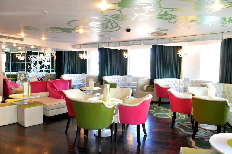 Fifth Floor Champagne Bar, Harvey Nichols, Knightsbridge, London