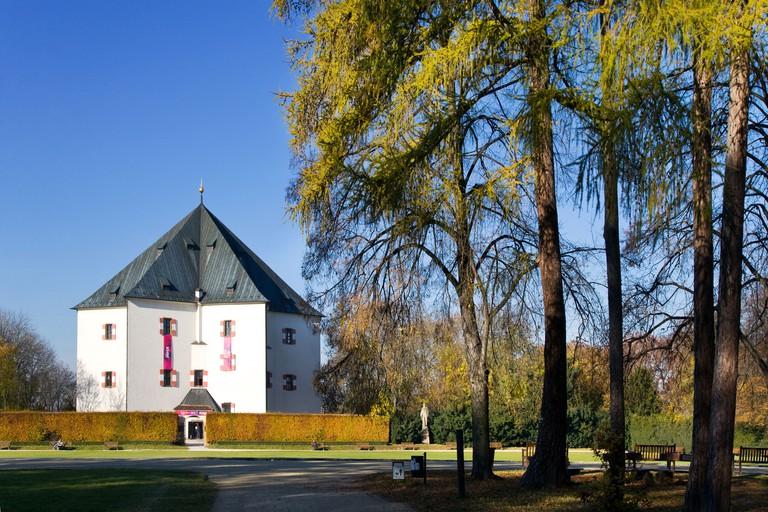 Letohrádek Hvězda is located within a game reserve