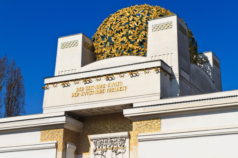 The Secession Building is a striking symbol of progress