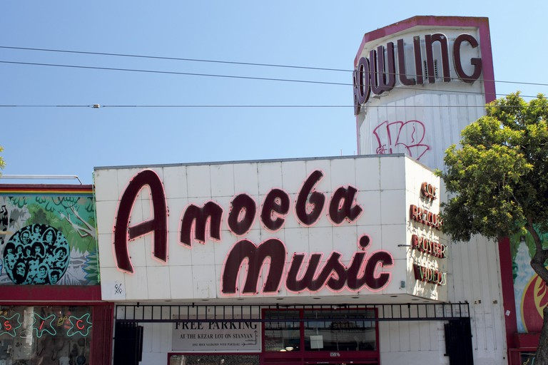 Amoeba Music will amaze visitors with its collection of records, DVDs and posters