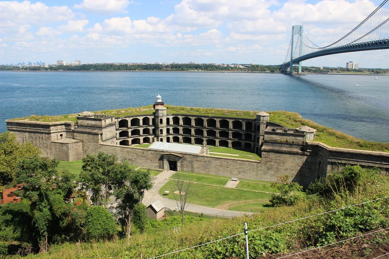 Battery Weed is part of Fort Wadsworth