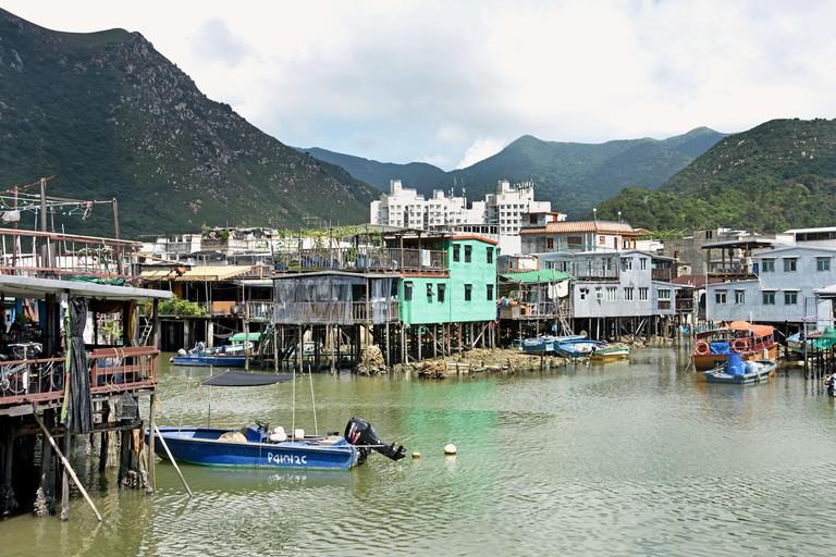 Tai O fishing village, Lantau island, Hong Kong China Chinese