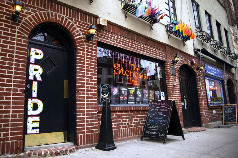 Stonewall Inn in Greenwich Village, New York, USA