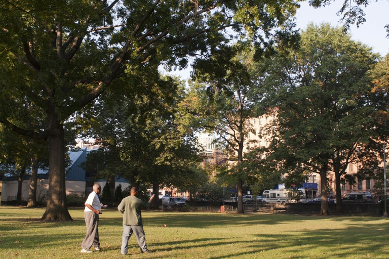 There are loads of activities to do in Marcus Garvey Park