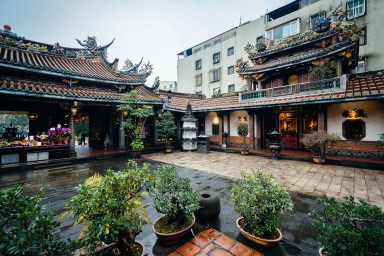 The Dalongdong Baoan Temple, Taipei, Taiwan