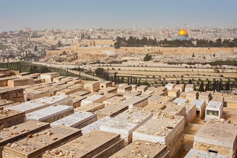 Mount of olives, Jerusalem.