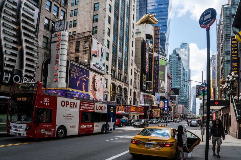 42nd Street in Time Square, Manhattan