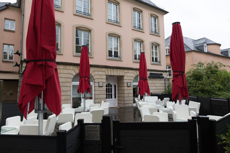 Restaurant Clairefontaine in Luxembourg