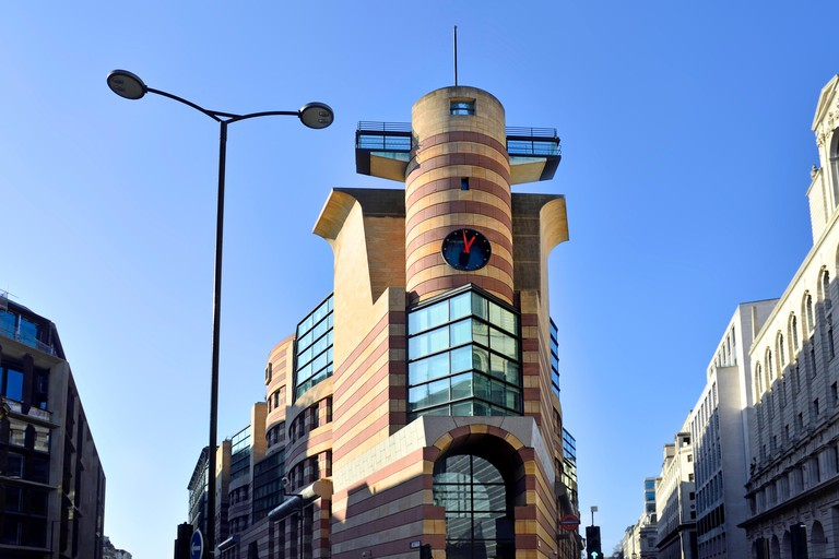 No 1 Poultry was Sir James Stirling's last completed building