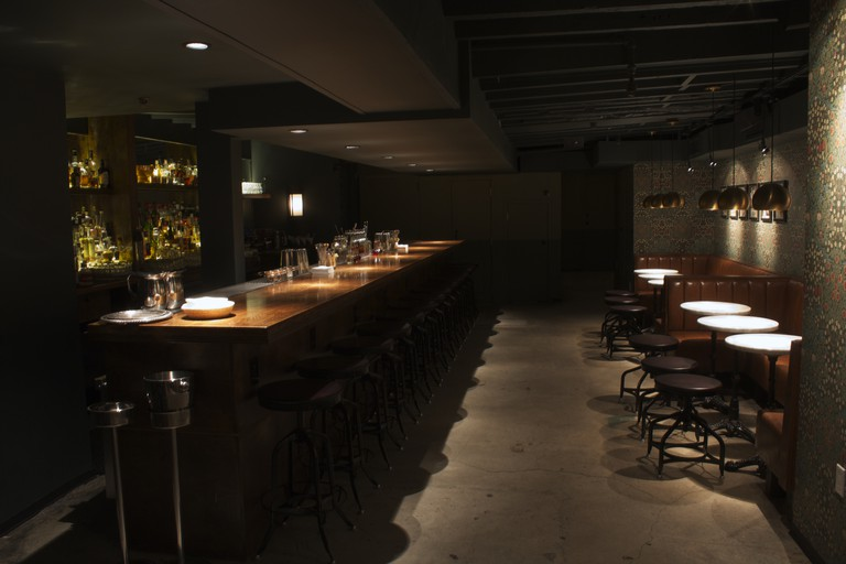 The Up & Up offers innovative cocktails in a dimly lit space