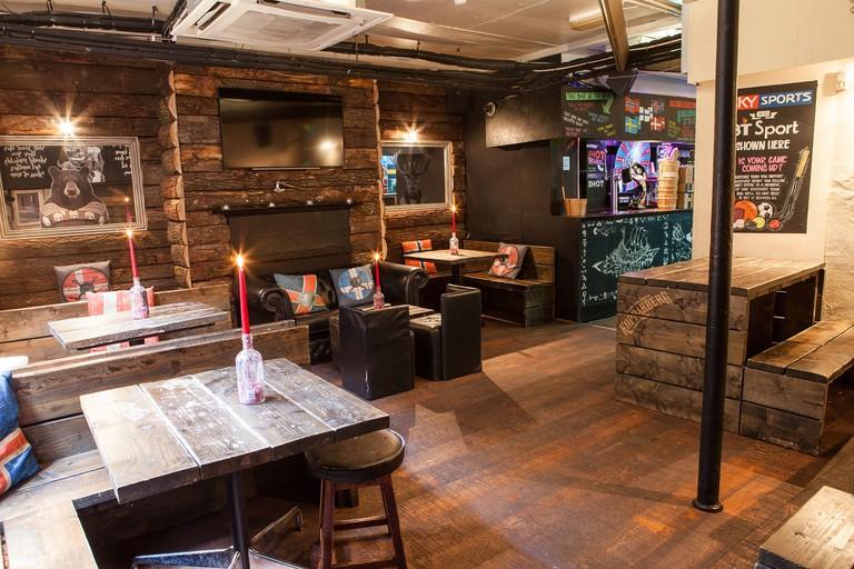 Nordic Bar is Scandinavian themed