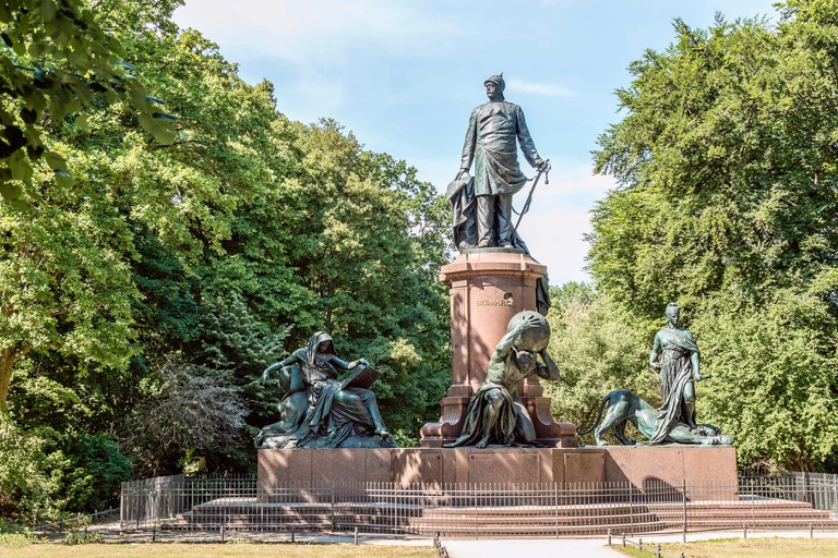 The Bismarck Memorial is one must-see in the Tiergarten