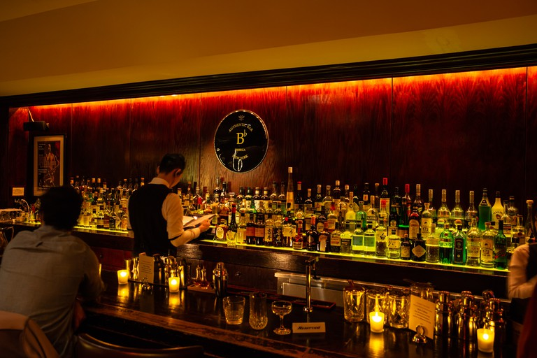 B Flat serves upscale food and drink