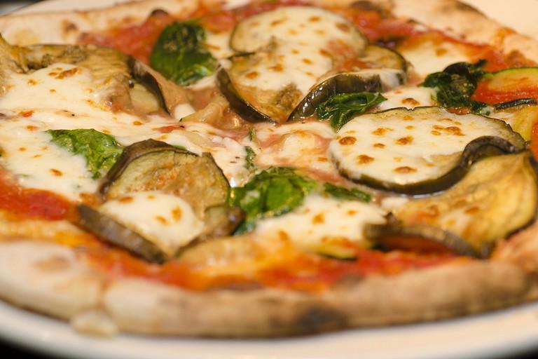 Pizza-Vegtariana