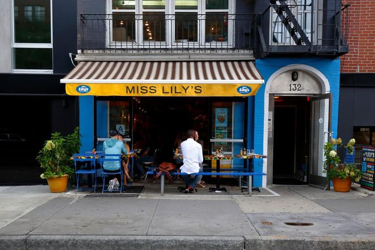 Miss Lily's in the Greenwich Village neighbourhood of Manhattan